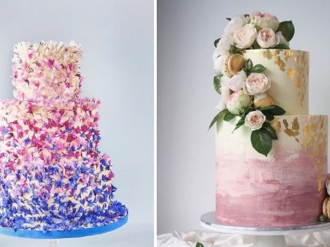 Top 13 wedding cake trends for 2018