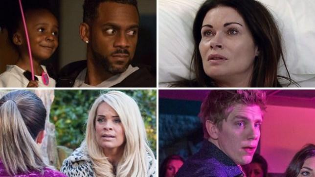 Soap spoilers for Vincent in EastEnders, Carla in Coronation Street, Grace in Hollyoaks and Robert in Emmerdale