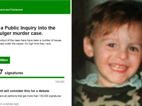 James Bulger petition for public inquiry could be debated in parliament