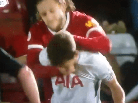 Adam Lallana given red card for putting Spurs teenager in a chokehold during U23s clash