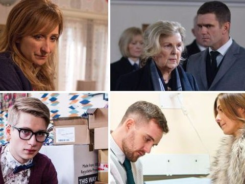 12 soap spoiler pictures: Coronation Street Bethany devastation, Emmerdale acid attack trauma, EastEnders funeral betrayal for Max