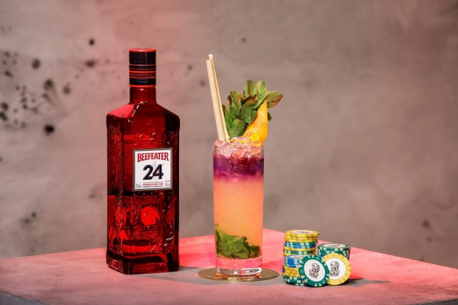 Beefeater Gin cocktail