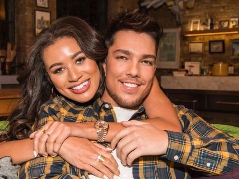X Factor's Matt Terry denies dating Love Island's Montana Brown: 'We're just really good friends'