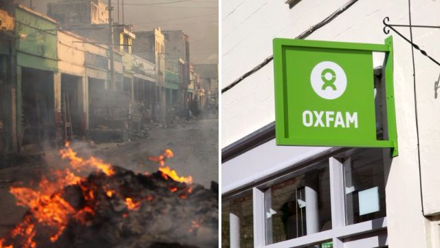 Oxfam staff 'paid earthquake survivors for sex and charity covered it up'