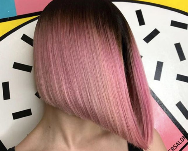 pink hair by not another salon