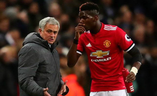 Jose Mourinho sends message to Paul Pogba after dropping him vs Huddersfield