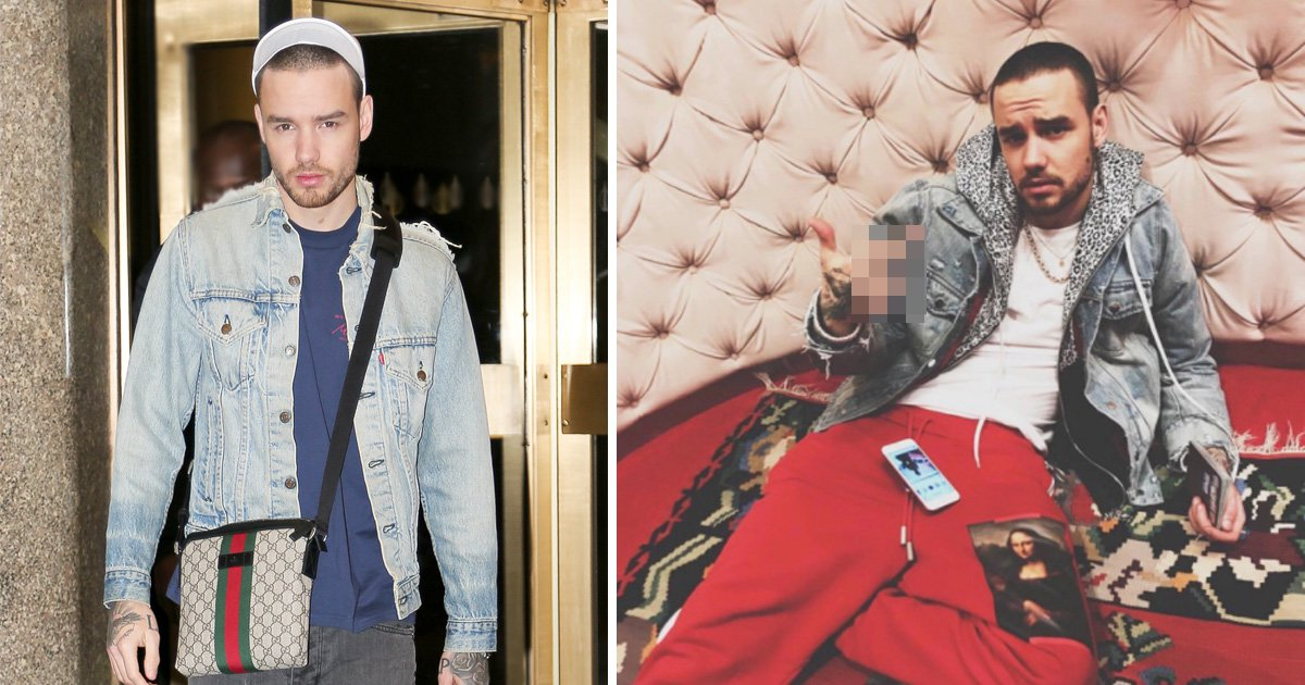 Liam Payne looks a little sheepish in New York after 'no f**ks' Instagram faux pas