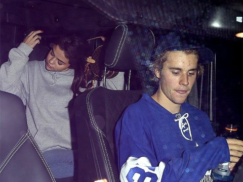 Justin Bieber and Selena Gomez dispel split rumours as they leave hockey match together