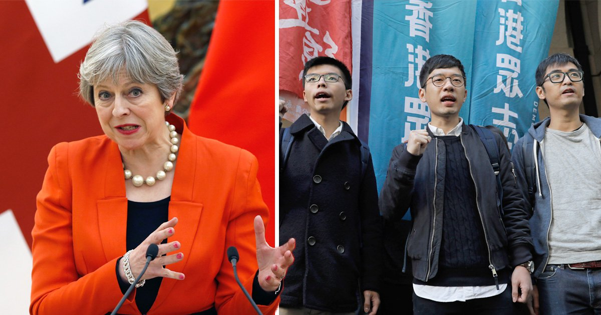 Downing Street denies May 'sidestepped' human rights during visit to China