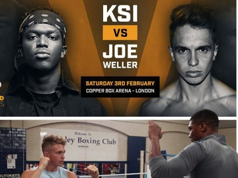 Anthony Joshua warned Joe Weller that the toughest part of KSI fight will be 'getting to the ring safely'