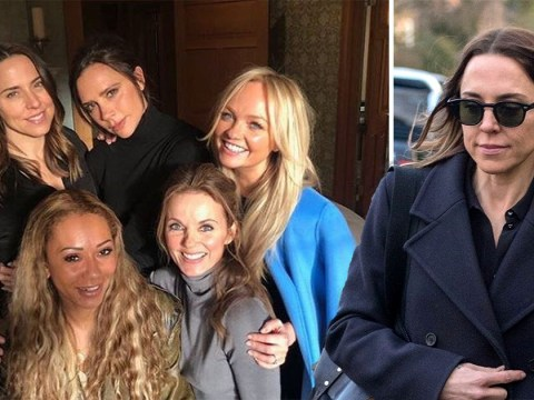 Mel C jokes she's 'glad she got her hair done' for Spice Girls reunion as she thought she was 'popping to Geri's for a cuppa'