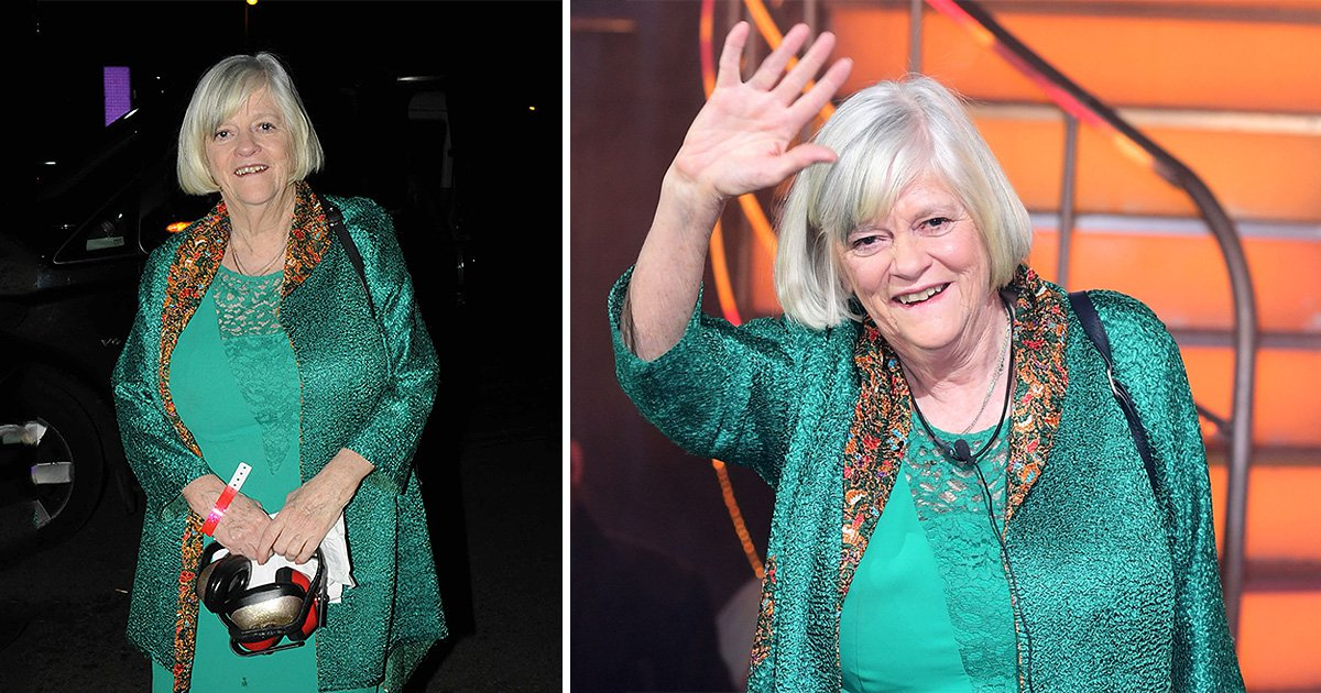 Ann Widdecombe took a pair of ear defenders to the Celebrity Big Brother wrap party