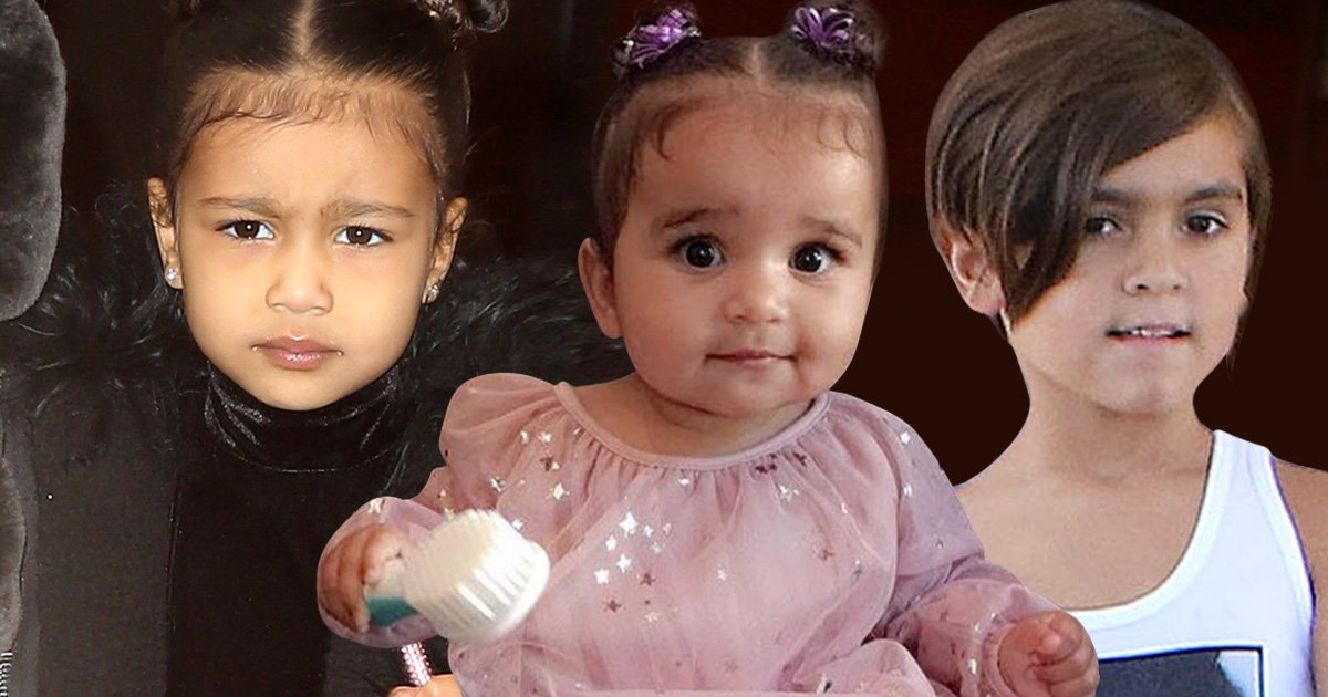 Kardashian children's names and ages - Kim's, Kourtney's ...