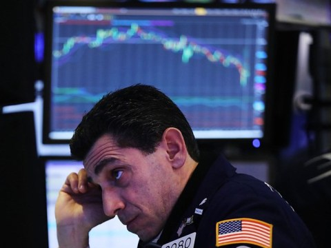 Dow Jones plummets 1,150 points – its largest single-day drop ever