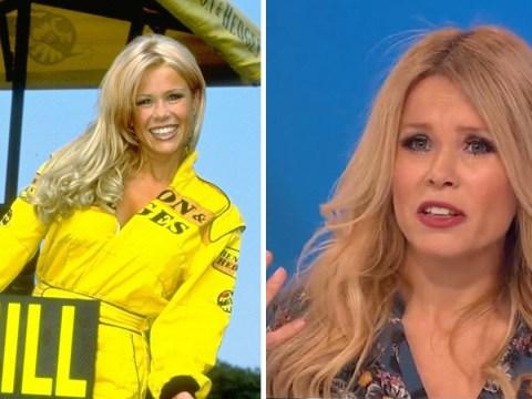 Melinda Messenger admits she felt 'exploited and vulnerable' as a Formula One grid girl