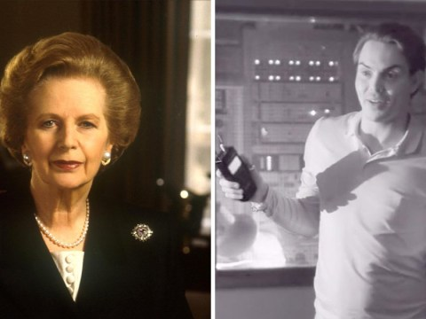 Towie's Bobby Norris 'confronted by the ghost of Margaret Thatcher' in Celebrity Ghost Hunt