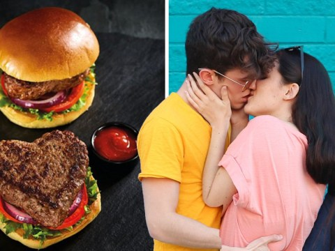 Morrisons launches a range of heart-shaped burgers for Valentine's Day