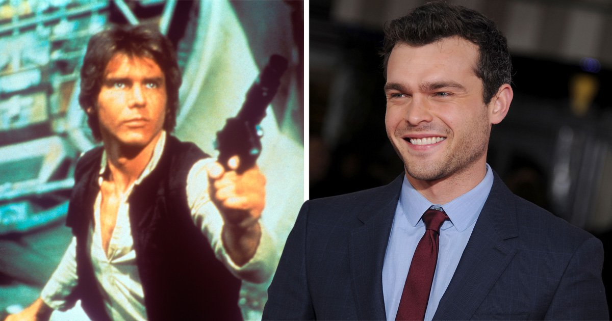 Harrison Ford gave Alden Ehrenreich some advice when it came to playing Star Wars' Han Solo