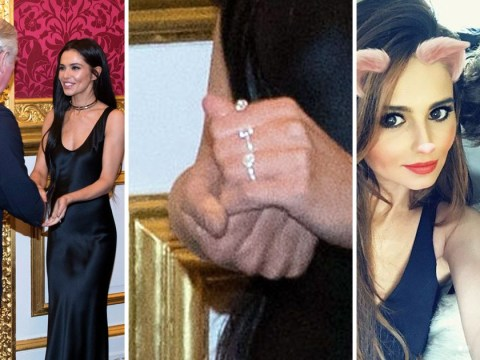 Cheryl sparks engagement rumours with Liam Payne as she wears dazzling ring on left hand