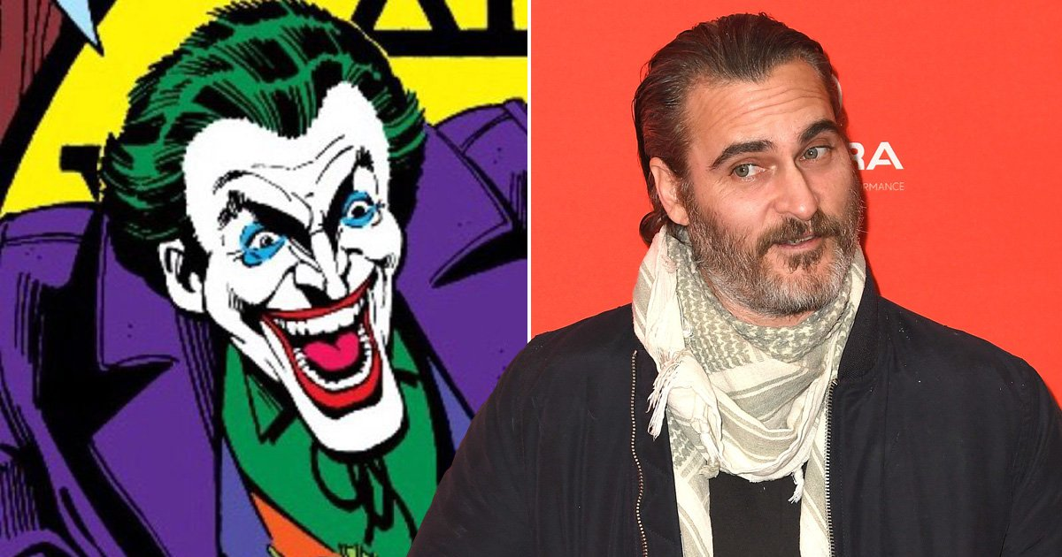 Joaquin Phoenix has an interesting answer to all those Joker rumours