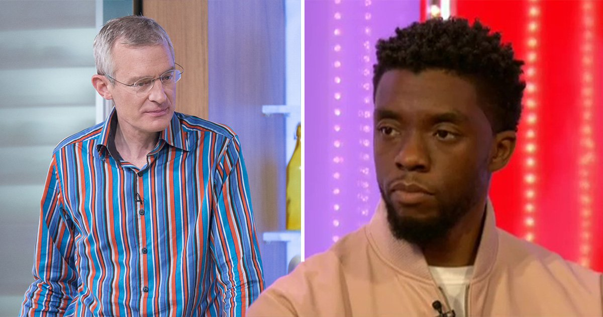 Jeremy Vine described Black Panther as 'overwhelming black' and people aren't happy about it