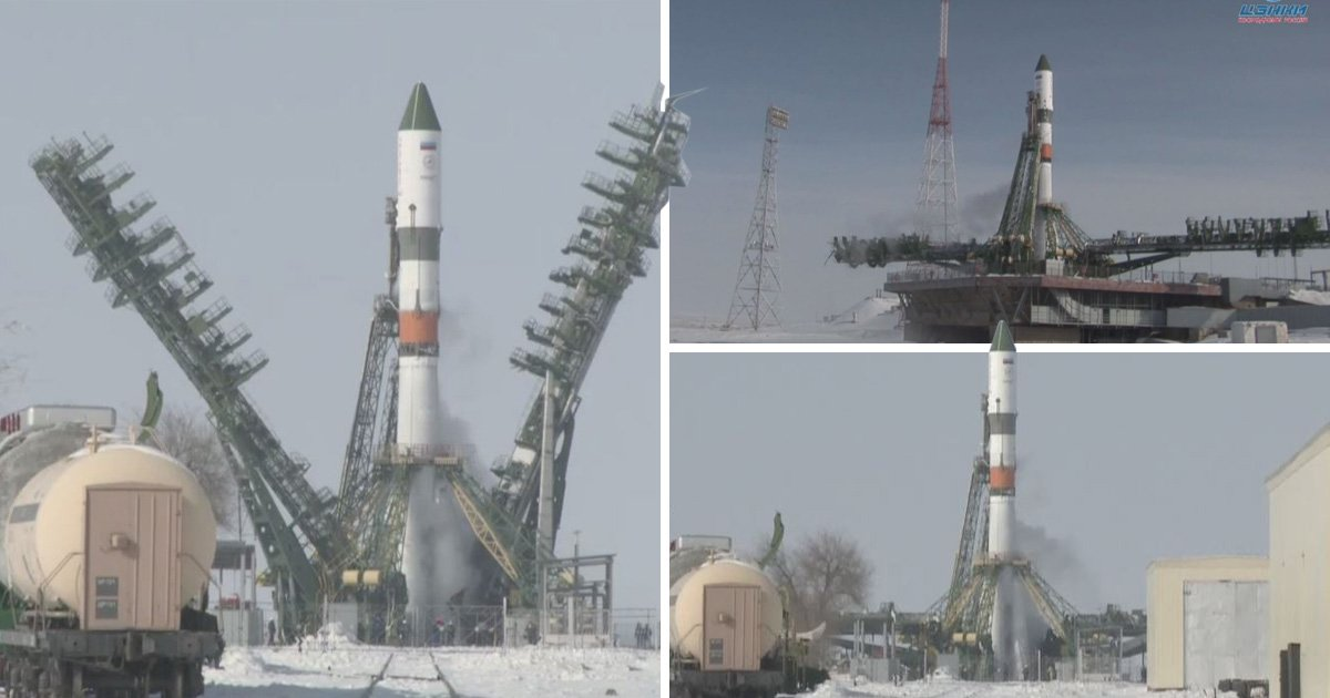 Russian rocket launch cancelled just seconds before take off