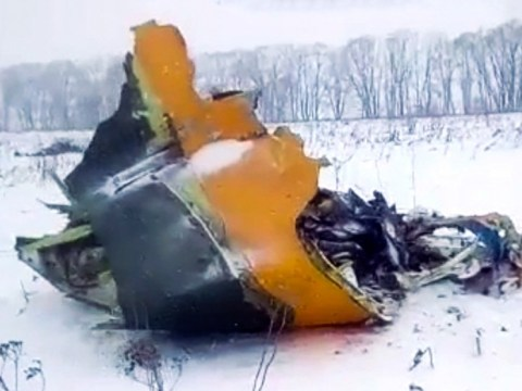 Russian plane carrying 71 crashes with 'no survivors'