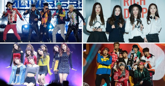 Songs By BTS, TWICE, BIGBANG, Red Velvet Play As Soundtrack To 2018 Olympics Opening Ceremony