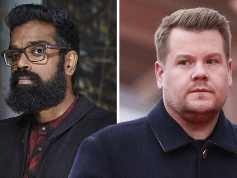 Romesh Ranganathan slates A League Of Their Own co-star James Corden in now-deleted tweets