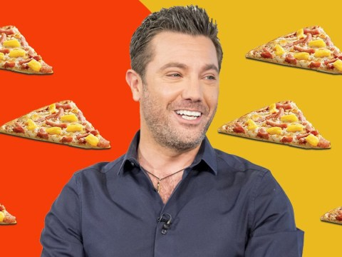 Gino D'Acampo weighs in on 'pineapple on pizza' debate and he's not having it