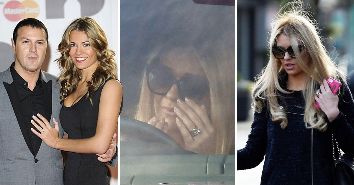 Christine McGuinness breaks down in tears as husband Paddy is pictured with Nicole Appleton