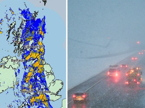 Flood, hail and snow warnings issued as weather misery continues across UK