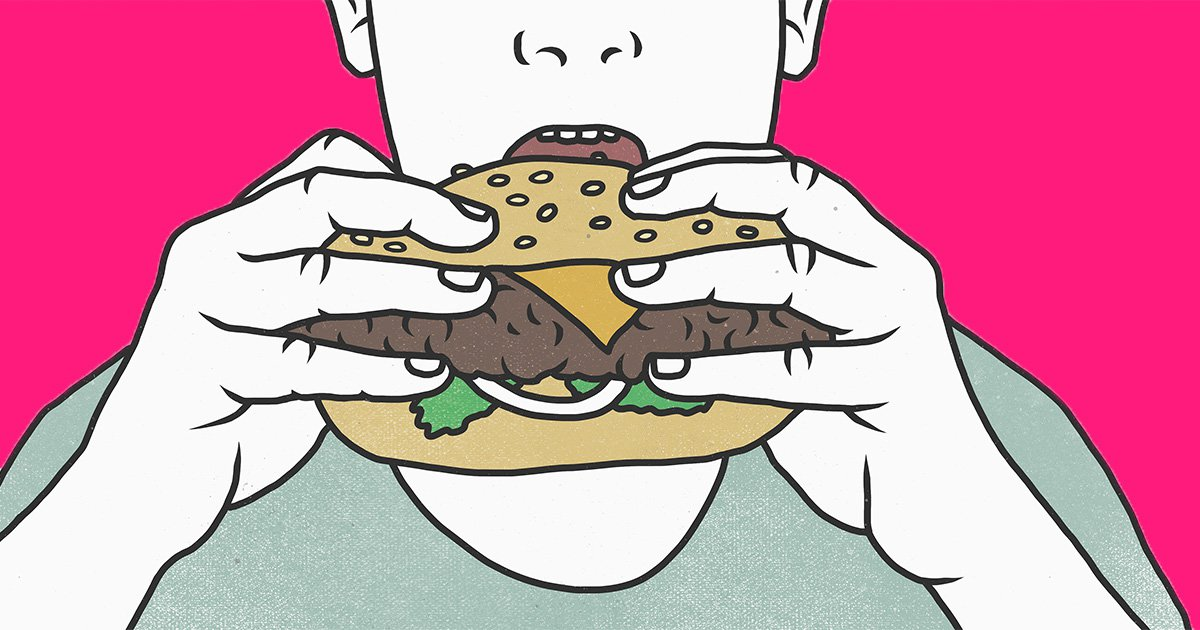 Eating slowly could be the key to you losing weight