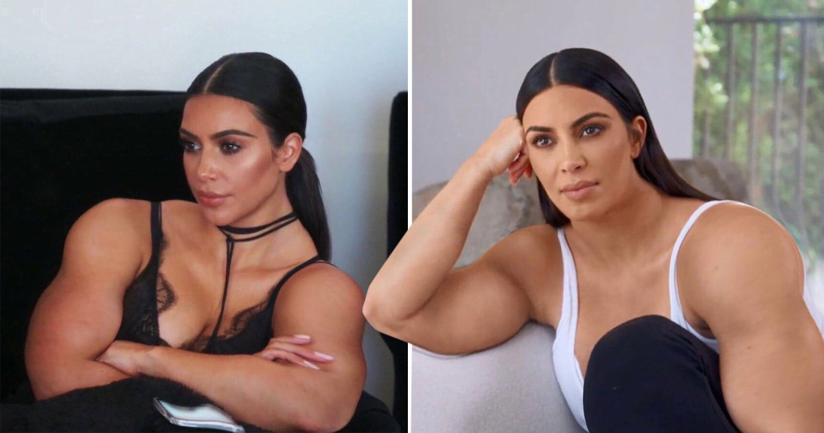 Kim Kardashian With Beefy Arms Is The Meme We Never Knew We Needed