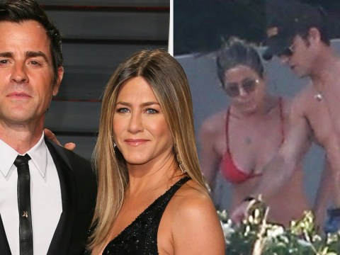 Body language in last snaps of Jennifer Aniston and Justin Theroux suggests 'distance'