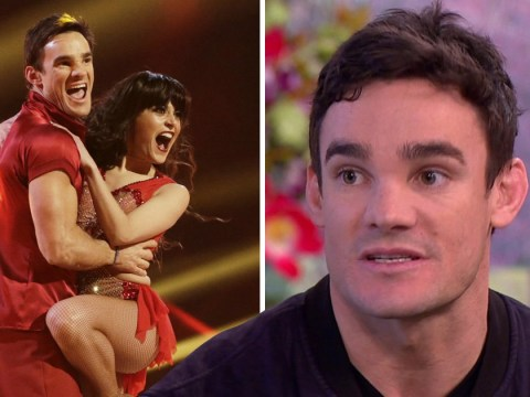 Dancing On Ice's Max Evans 'wants to punch people' before he takes to the ice