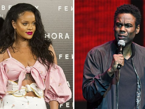Chris Rock was turned down by Rihanna after chatting her up at a party