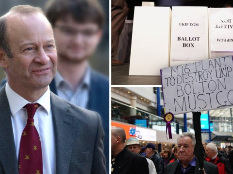 Heny Bolton sacked as Ukip leader after losing vote of no confidence
