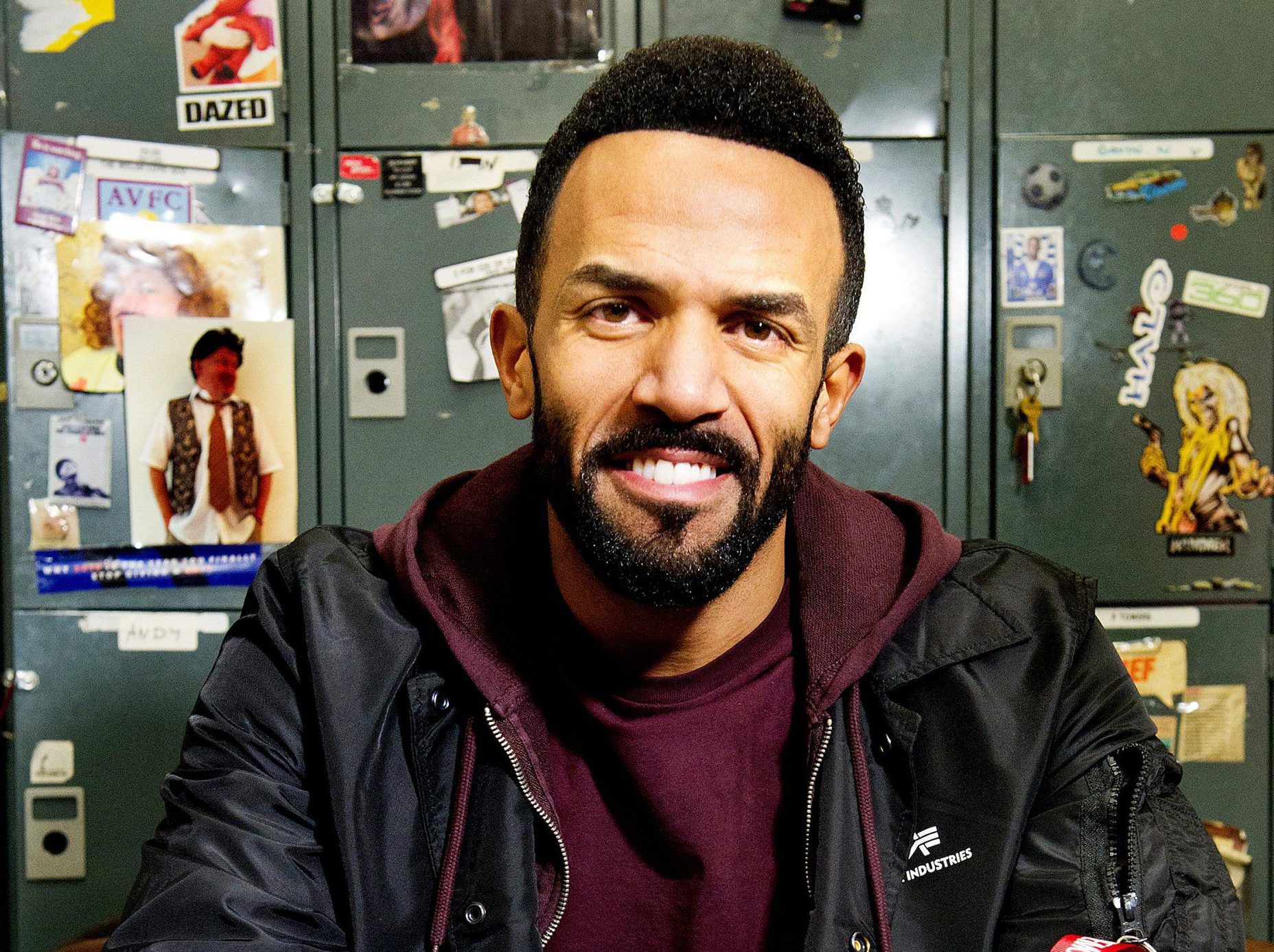 Craig David isn't looking for love, love will find Craig David