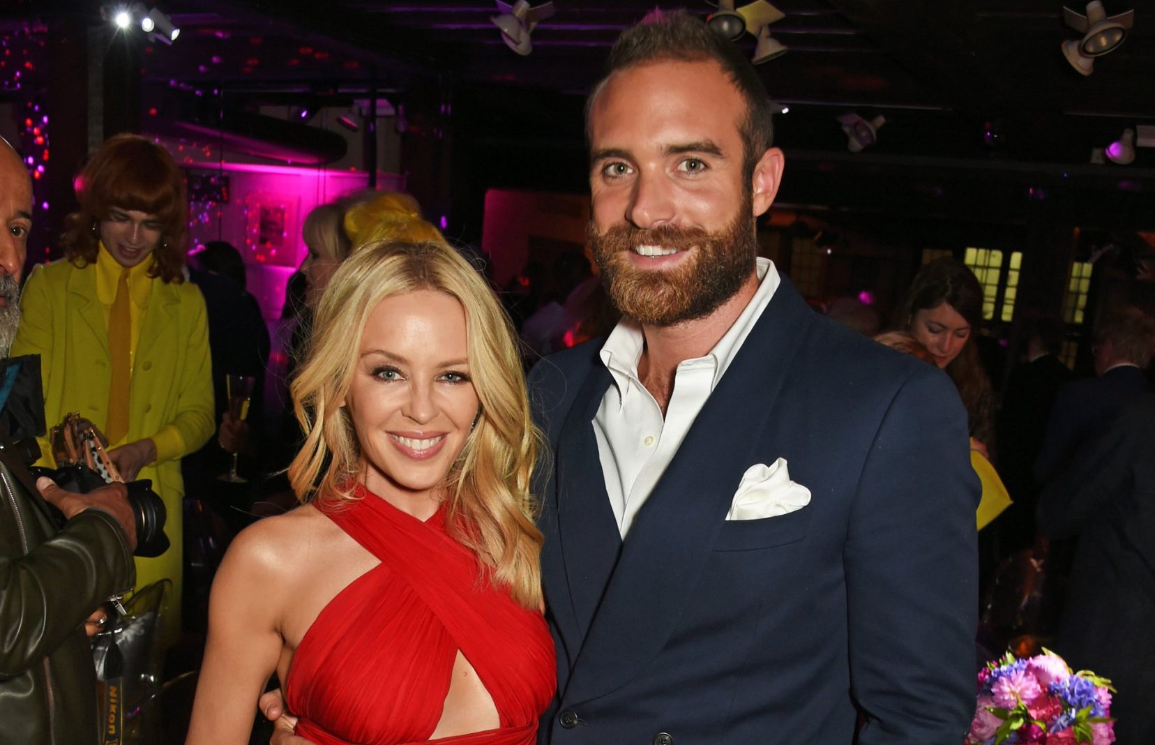 Kylie Minogue's ex Joshua Sasse 'dumped by fiance just days before their wedding'