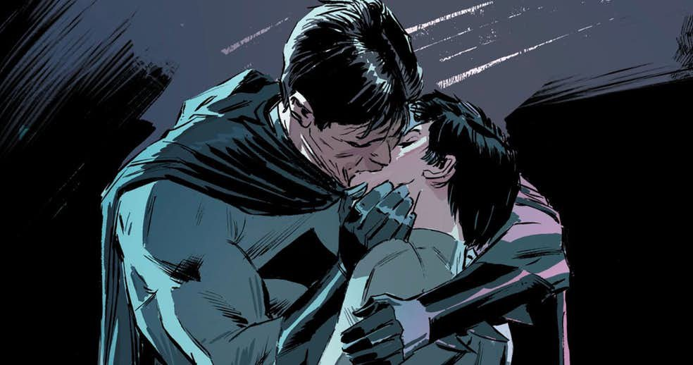 Batman is finally getting married to Catwoman