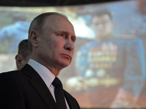 Putin cancels all public appearances because he's got the sniffles