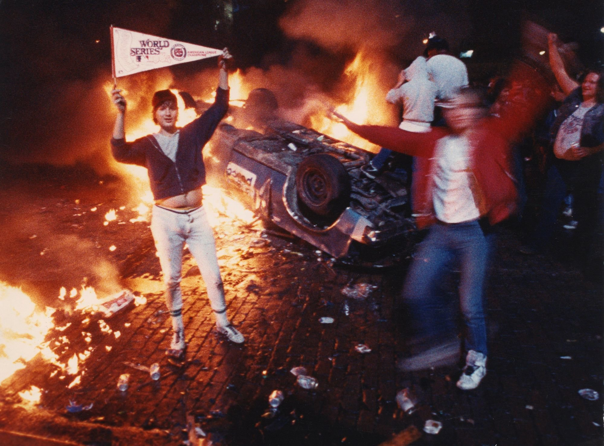 Here are five American cities which rioted after sporting success and defeat