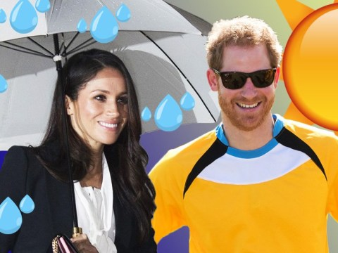 Weather predictions for Harry and Meghan's royal wedding