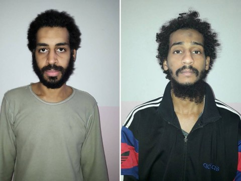 First picture of British Isis 'Beatles executioners' captured in Syria