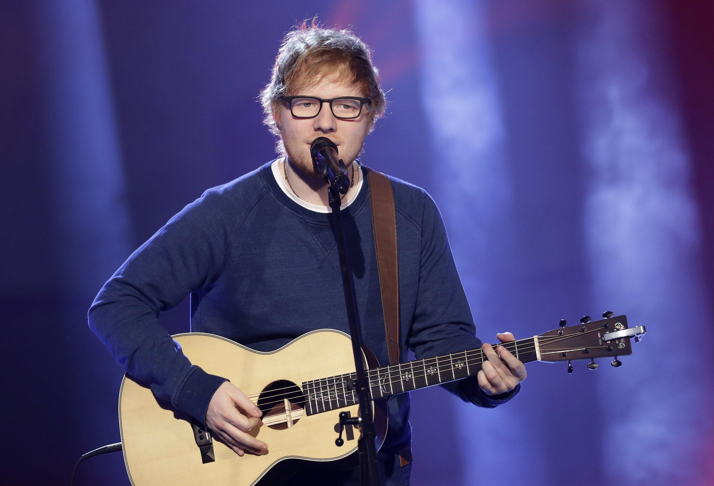 Stand down – Ed Sheeran isn't married despite wearing 'wedding ring'
