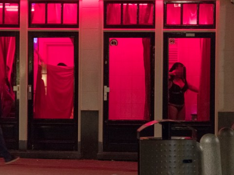 Amsterdam red light district sex worker reveals truth about the women in the windows
