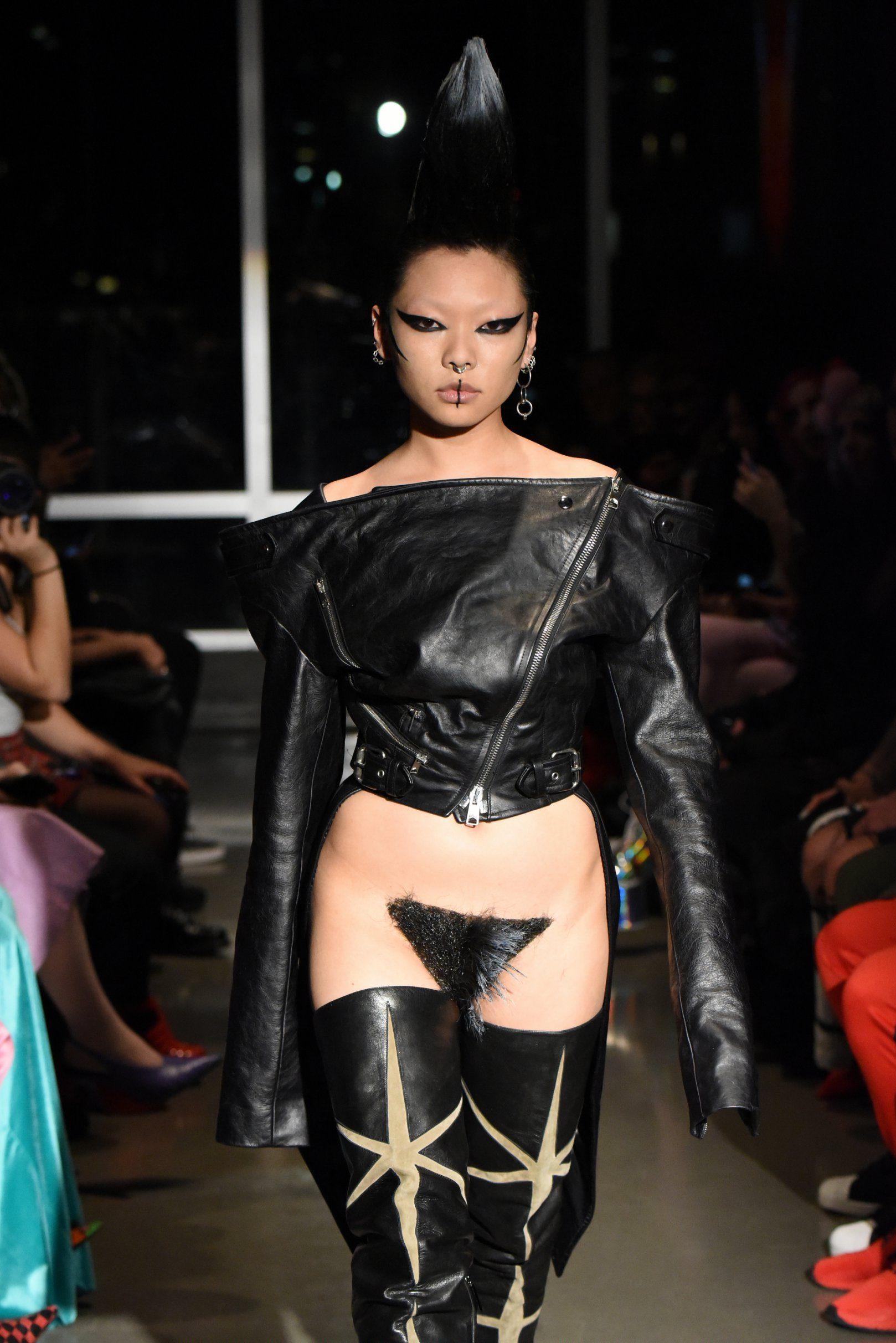 Magnificent Shaved vigina runway consider