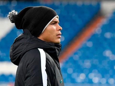 Paris Saint-Germain manager Unai Emery insists dropping Thiago Silva a tactical decision