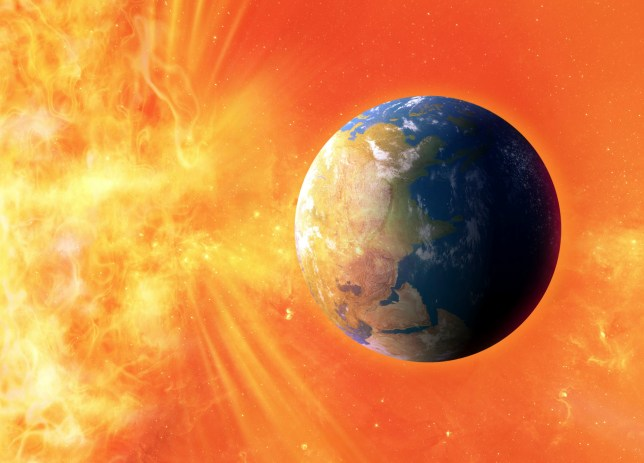 A massive solar storm could strike within the next 100 years (Picture: Getty Images)